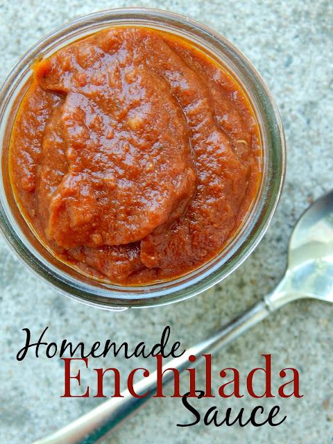 homemade enchilada sauce (sweetandsavoryfood.com)