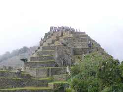 Pyramid shaped Temple Complex & Intiwatana, Machu Picchu