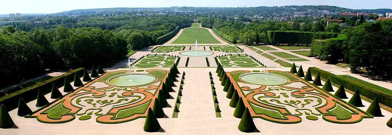 Jardins do castelo de Sceaux