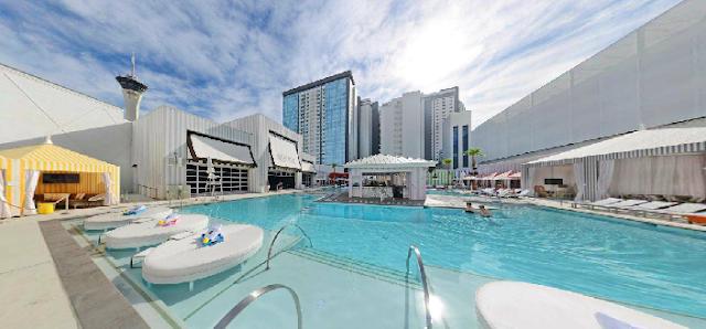 Piscina SLS Hotel e Cassino Las Vegas