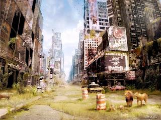 Foto De Paisaje Futurista Apocaliptico