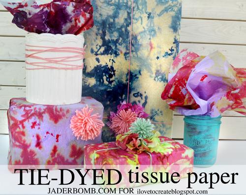 ilovetocreate blog diy tie dyed tissue paper. Black Bedroom Furniture Sets. Home Design Ideas
