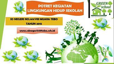 Penghargaan Juara II Tingkat Kabupaten Tebo Lomba Adiwiyata Tahun 2015