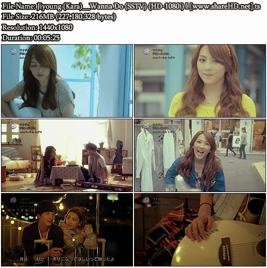 Download PV Jiyoung (Kara) - Wanna Do (SSTV Full HD 1080i)