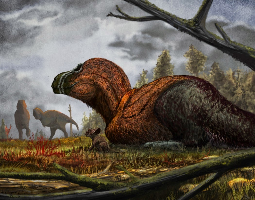 Mark blog tyrannosaurus and triceratops for Tyranosaurus