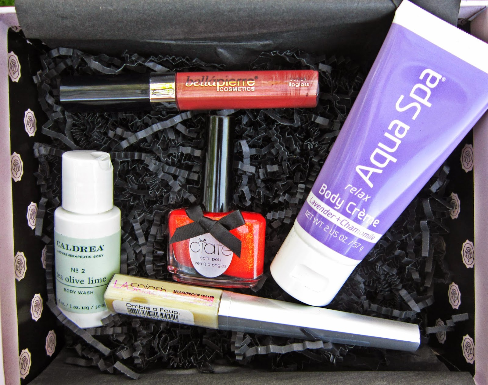 April 2014 Glossybox Review