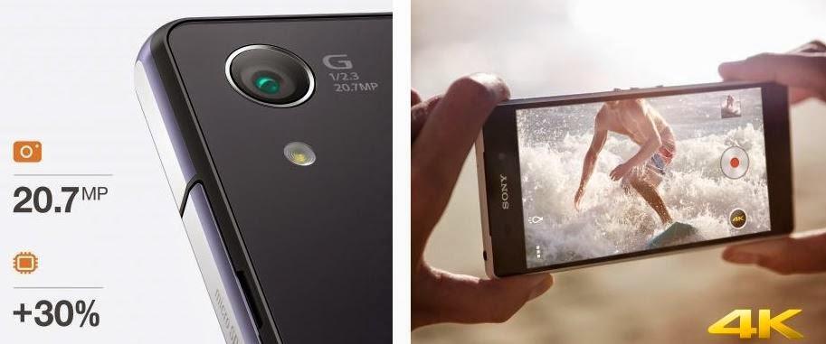 Fitur dan Spesifikasi Sony Xperia Z2