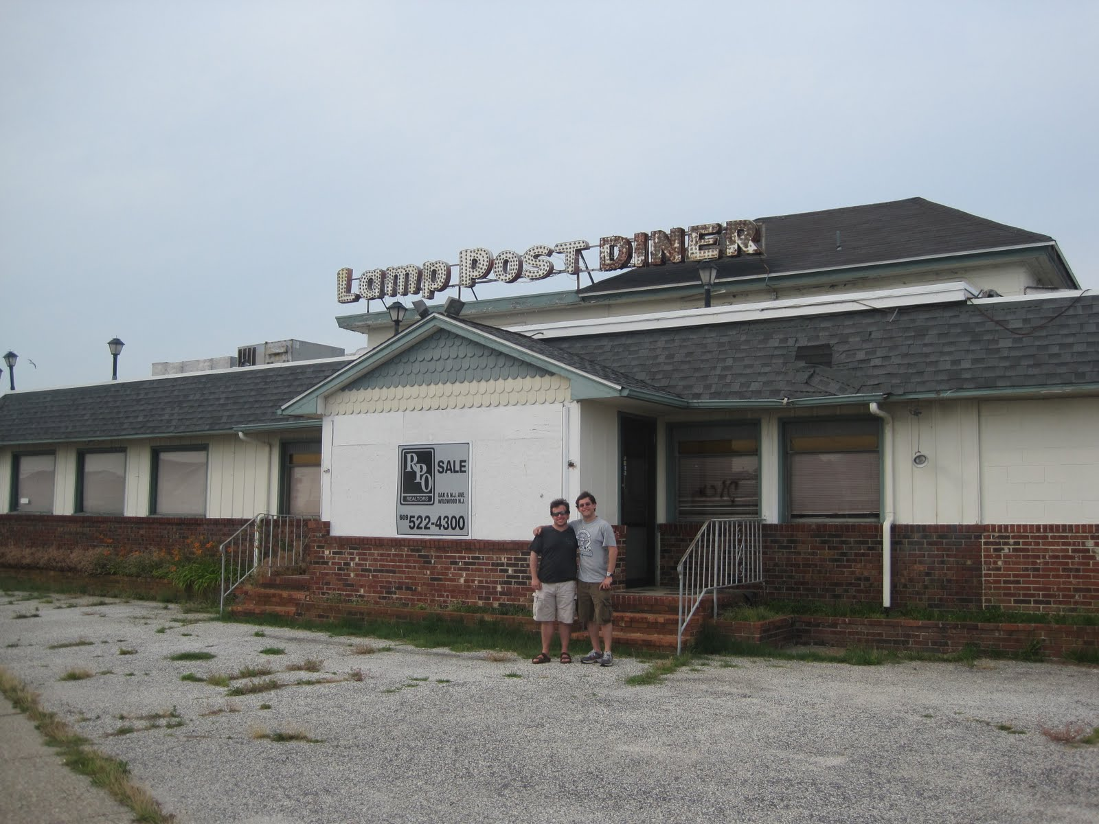 Abandoned in Wildwood | NJ Diner Challenge