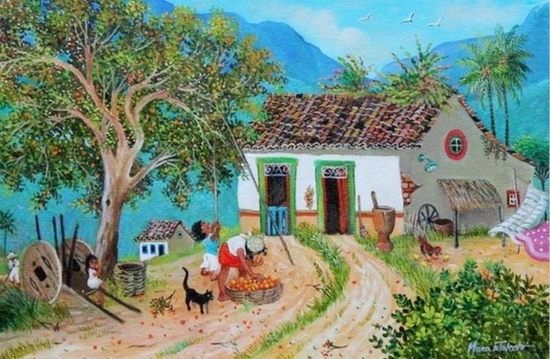 Cuadros modernos pinturas y dibujos cuadros de paisajes - Cuadros para casa ...