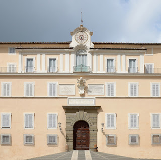 The Apostolic Palace in Castel Gandolfo is the Pope's summer residence