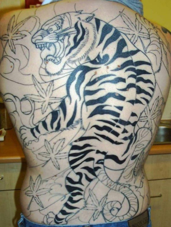 Best tattoos for men tiger tattoo meaning for Best tiger tattoos