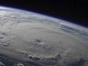 """""""Frankenstorm"""" imágen satélite, 25 de Octubre 2012"""