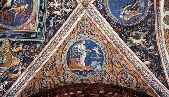 Perugino Umbría de la escuela