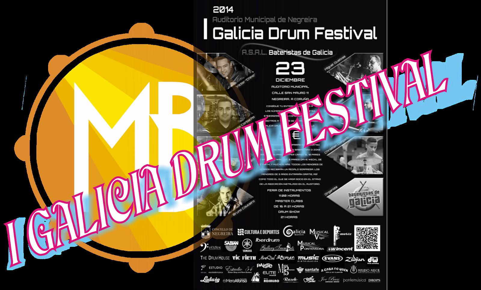 portada reseña blog massbateria galicia drum festival