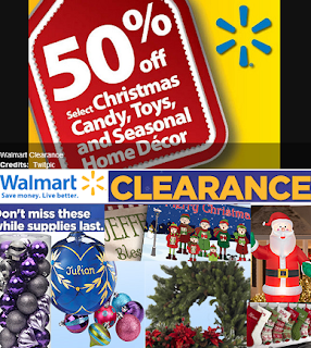 Seasonal clearance silver replace one that walmart christmas clearance