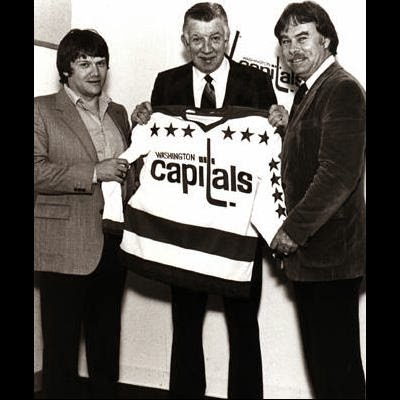 In 1980, McNab (C) hired 26-year-old Gary Green (L), youngest coach in NHL history (Book Pg. 93)