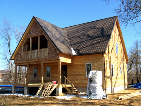 Patricia Maher And Rebecca Johnson Are Building A Pair Of Straw Bale Houses  At 181 North Maple Street In Akron , OH . Ms. Maheru0027s House, Above, ...