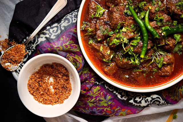 lamb curry with coconut gravy recipe