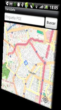 TurisInfo, Interfaz gráfica