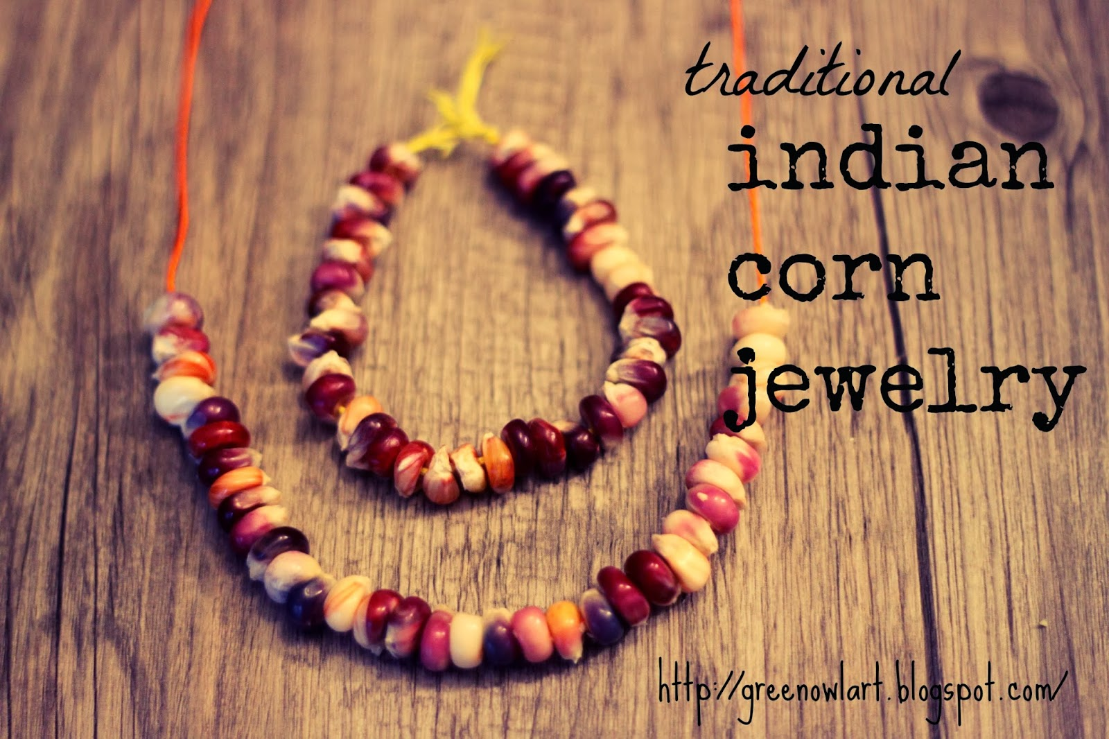 Indian Corn Jewelry