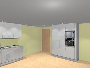 Plano da cozinha do T2