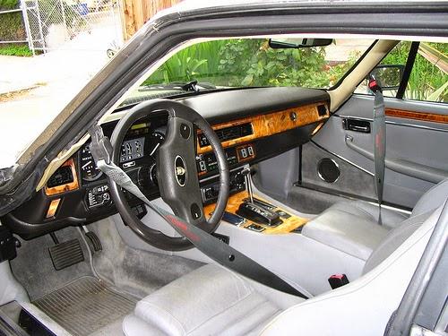 Jaguar XJS interior, American spec