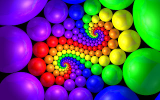 Colorful 3D Widescreen HD Desktop Wallpaper