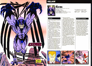 Kestrel Ficha DC Comics