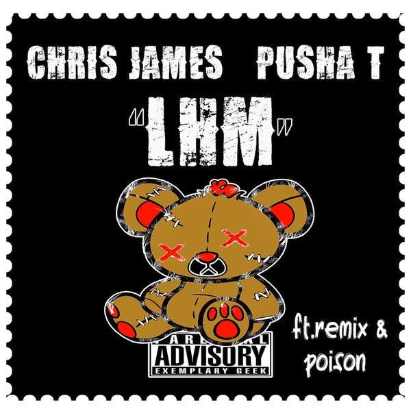 Chris James - Love Hates Me (feat. Pusha T) - EP  Cover