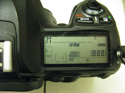DSLR Camera at Full Power with High Capacity External Battery