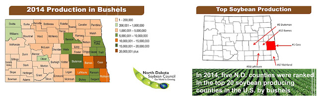 2014 North Dakota Soybean Production