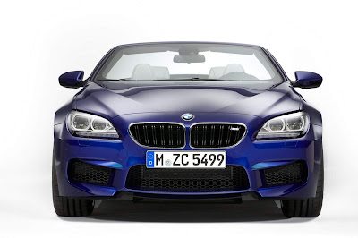2012-BMW-M6-Blue-Metalic-Color-Front-View