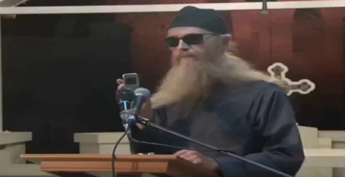 Ορθόδοξος μοναχός πιστεύει ότι κατέγραψε κραυγές από την κόλαση [Βίντεο]