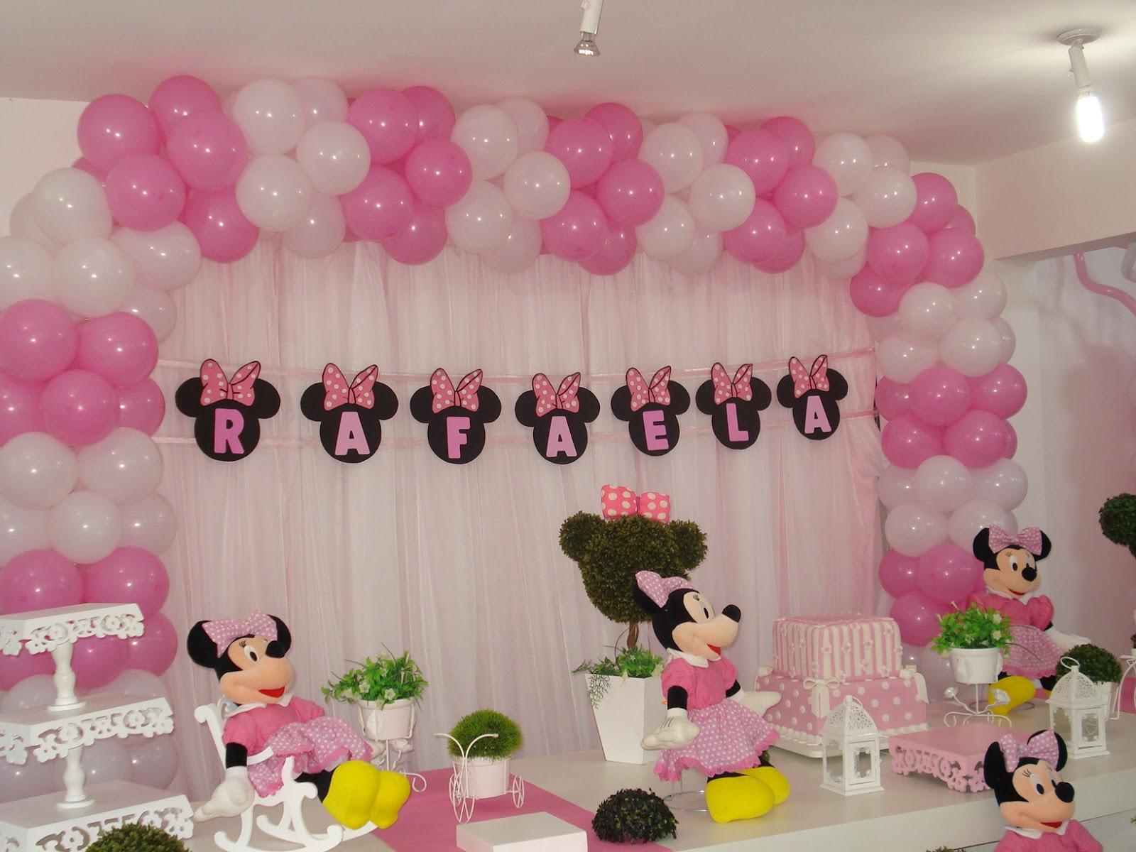 decoracao festa minnie rosa:Raul & Ricardo Festas: Decoração Minie Rosa – Raul & Ricardo Festas