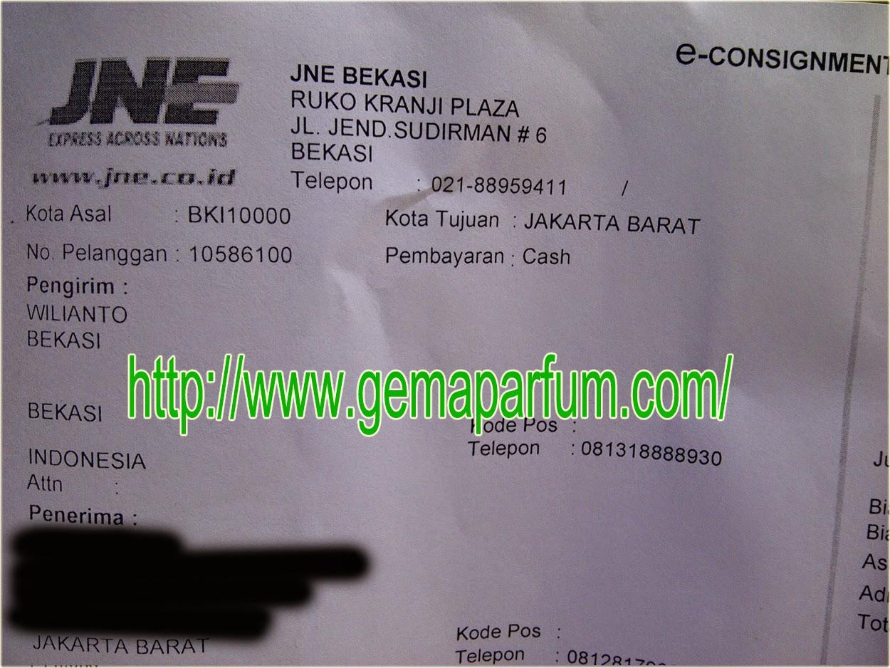 Pengiriman parfum ke Jakarta Barat