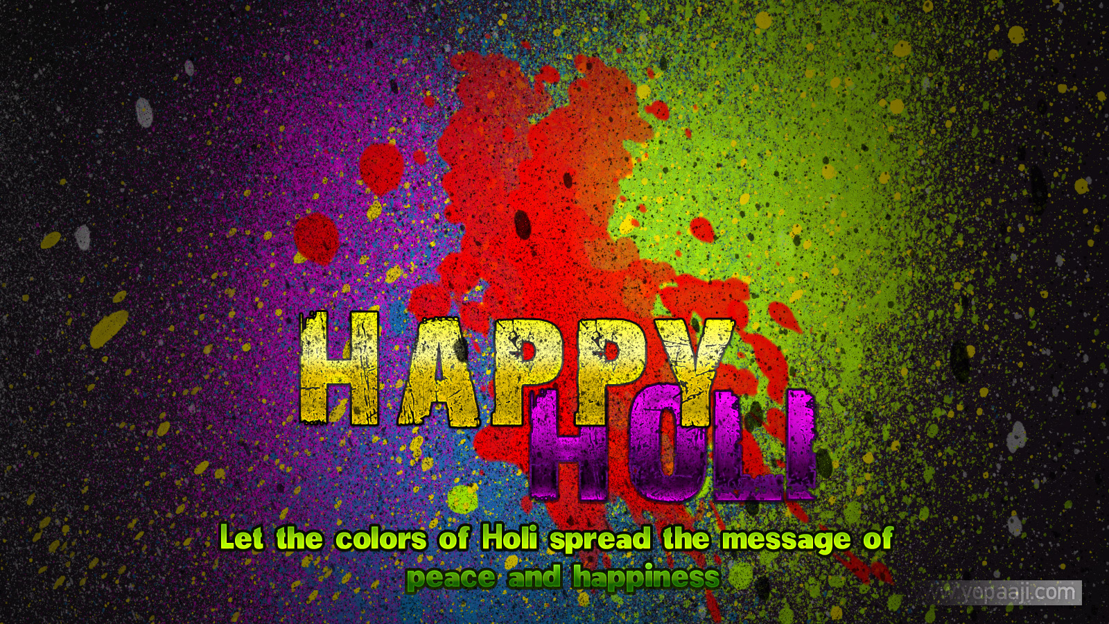 holi colorful hd wallpapers