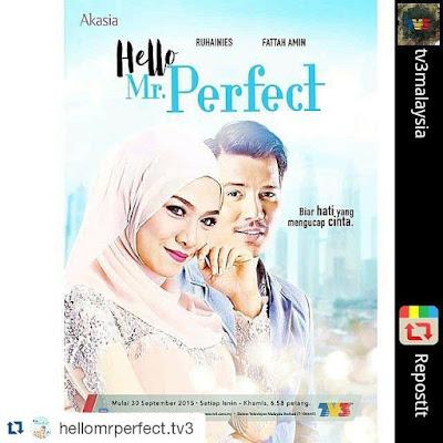 Biodata Fattah Amin Hero Drama Hello Mr Perfect