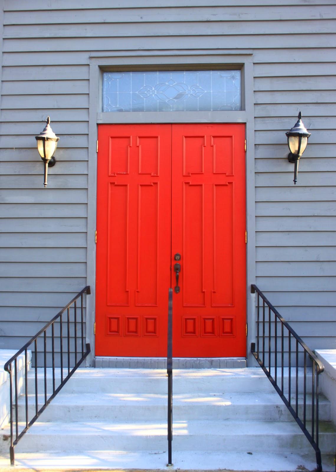 Behind The Red Doors