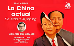 "Charla-debate: ""La China actual. de Mao a Xi Jiping"""