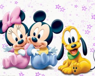 American animated cartoon characters the assian style for Immagini pluto baby