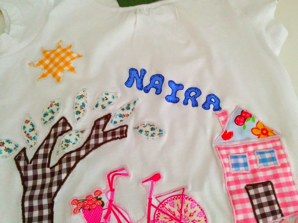 Detalle de Camiseta Personalizada Naira