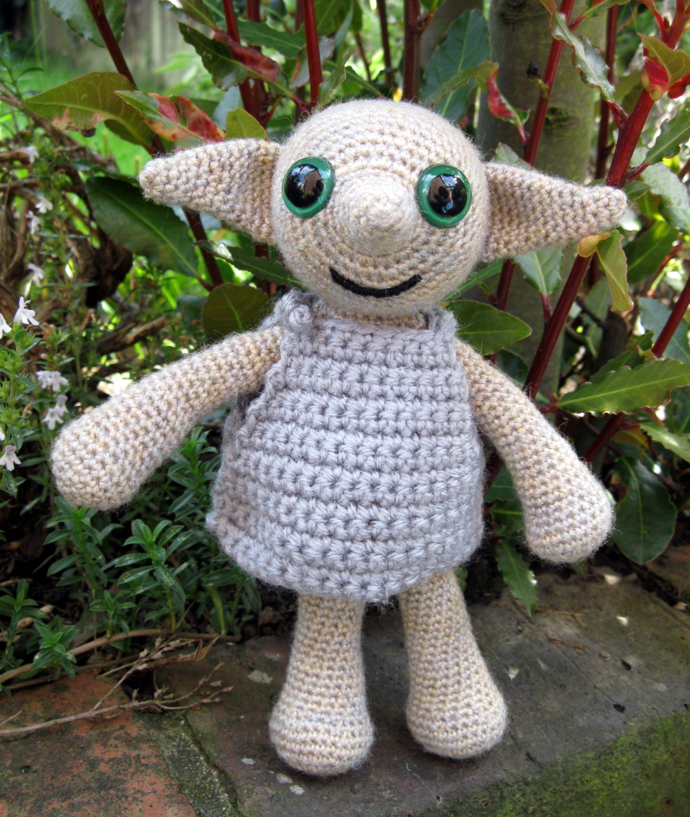 LucyRavenscar - Crochet Creatures: Dobby the House Elf