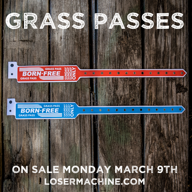 GRASS PASS WRISTBANDS