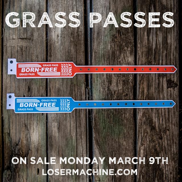 GRASS PASS WRISTBANDS