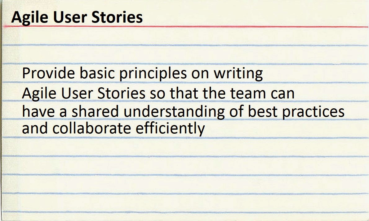 How To Write Meaningful Agile User Stories