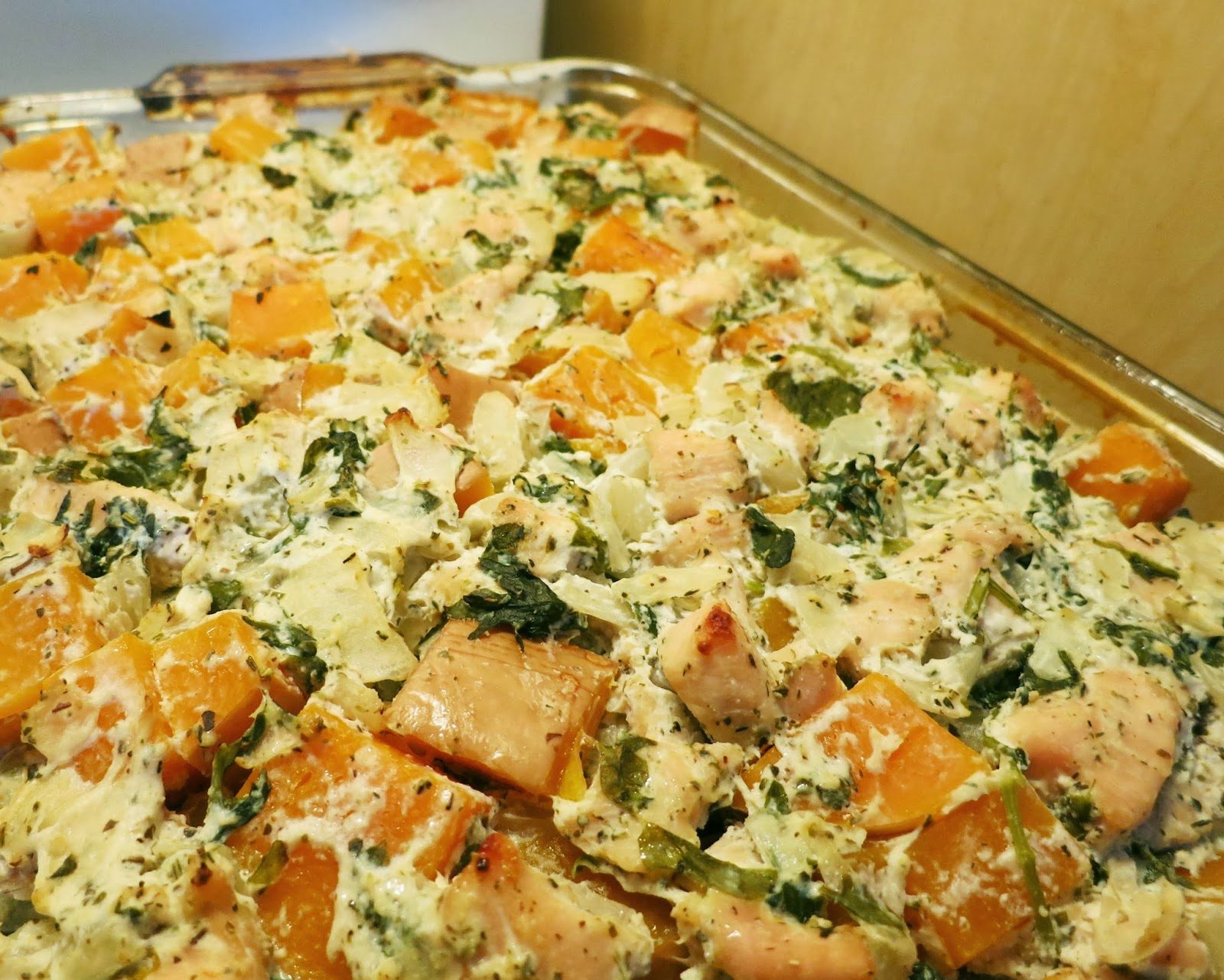 Italian Chicken and Squash Casserole