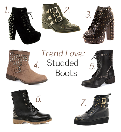 Trend Love: Studded Boots