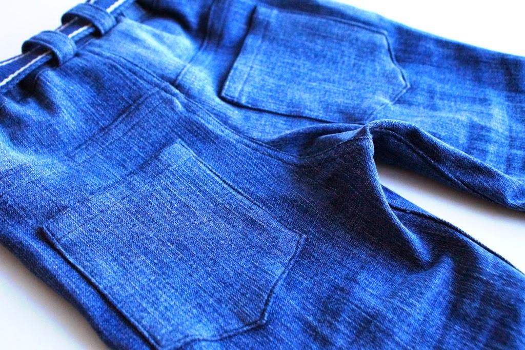 upcycled small fry skinny jeans- huisje boompje boefjes