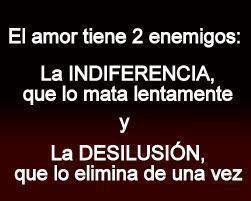 enemigos del amor