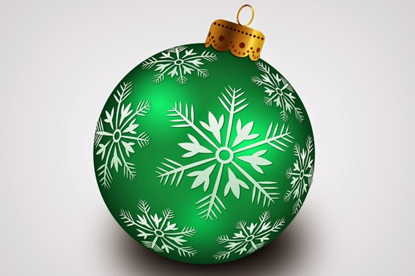8. Hanging Ball For Christmas